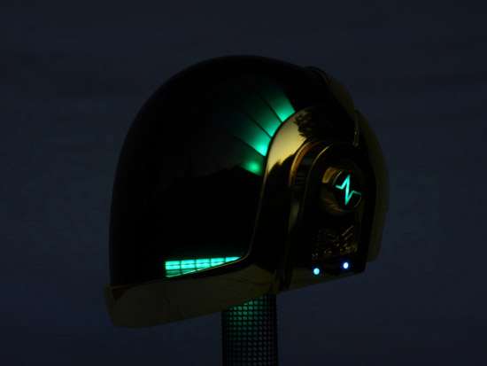 LoveProps Daft Punk Helmet Casco Manuel DIY green