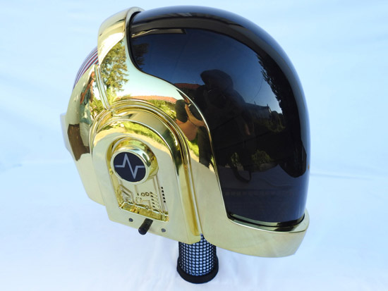 LoveProps Daft Punk Helmet Casco Manuel DIY side light off