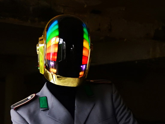LoveProps Daft Punk Helmet Casco Manuel DIY double rainbow